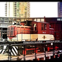 Photo taken at Toronto Railway Heritage Centre by Amir - a. on 8/19/2012