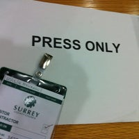 Photo taken at Surrey County Council by Nick S. on 12/20/2011