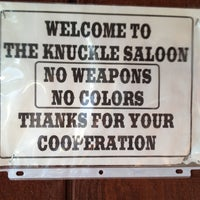 Photo taken at Knuckle Saloon by Carla D. on 7/31/2012