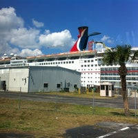 Photo taken at Carnival Ecstasy by Colleen C. on 3/26/2012