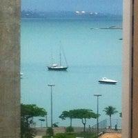 Photo taken at Praia do Canto by Amanda C. on 11/18/2011