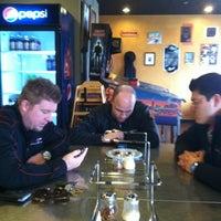 Photo taken at Black Market Pizza by Jason B. on 1/26/2012