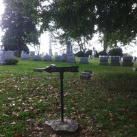 Photo taken at Frankfort Cemetery by Brandon S. on 10/21/2011
