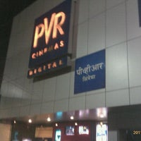 Photo taken at PVR Cinemas Kotak IMAX by Hosh J. on 11/13/2011