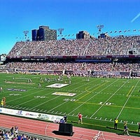 Photo taken at Percival Molson Memorial Stadium by Daniel V. on 9/11/2011