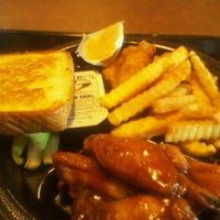 Photo taken at Zaxby's Chicken Fingers & Buffalo Wings by Andrew D. on 9/26/2011