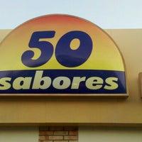 Photo taken at Sorveteria 50 Sabores by Felipe A. on 11/15/2011