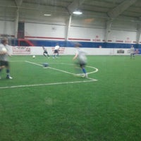 Photo taken at Soccer City by Chris D. on 11/3/2011