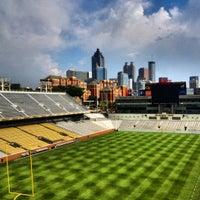 Photo taken at Bobby Dodd Stadium by David S. on 7/9/2012
