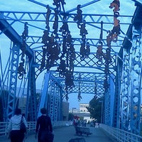 Photo taken at Blue Bridge by Holly C. on 9/21/2011