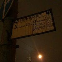 Foto tirada no(a) Остановка Калибровская Ул. por Gordeev G. em 1/17/2012