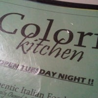 Photo taken at Colori Kitchen by Raciel D. on 10/30/2011