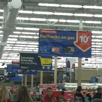 Photo taken at Walmart Supercenter by Ethan S. on 12/21/2011