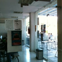 Photo taken at Cafeteria by Paola S. on 11/9/2011