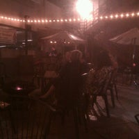 Photo taken at Stress Factory Comedy Club by Lyon H. on 9/30/2011