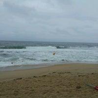 Photo taken at Sokcho Beach by Sangyong L. on 8/17/2011