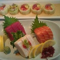 Photo taken at Sushi King by Nohariz Iris G. on 2/10/2012