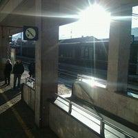 Photo taken at Stazione di Rovereto by Anna S. on 1/7/2012