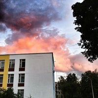 Photo taken at Школа №1121 by Andrey K. on 7/17/2012