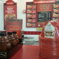 Photo taken at Firehouse Subs by Alex G. on 12/14/2011