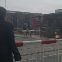 Photo taken at Brayford Wharf East Level Crossing by Phil C. on 12/21/2011