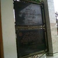 Photo taken at Masjid Bani Kanti by Paul on 1/7/2012
