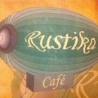 Photo taken at Rústika Café Tapas&Gin by Cristian M. on 1/5/2012