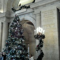 Photo taken at New York Public Library - Stephen A. Schwarzman Building Celeste Bartos Forum by Rob O. on 12/10/2011