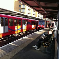 Photo taken at Limehouse DLR Station by Erol U. on 1/19/2011