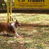 Photo taken at Pet Movers @ Pasir Ris Dog Run by Lim Y. on 7/17/2011
