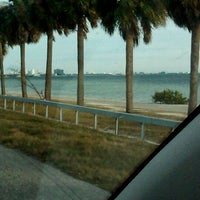 Photo taken at Courtney Campbell Causeway by Elaine H. on 1/2/2012