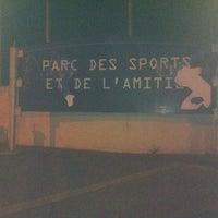 Photo taken at Parc Des Sports Et De L'amitié by Camille G. on 8/13/2012
