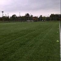 Photo taken at Richmond Green Soccer Field by Michael C. on 10/17/2011