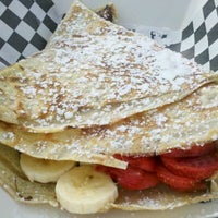 Photo taken at Crepes Bonaparte Truck by k k. on 1/15/2012