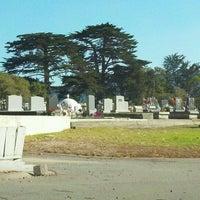 Photo taken at San Carlos Cemetery by Morgan C. on 9/30/2011