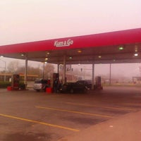 Photo taken at Kum & Go by Aaron P. on 11/24/2011