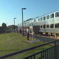 Photo taken at Metra - Pingree Road by Stephanie W. on 8/16/2011