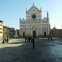 Photo taken at Piazza Santa Croce by Samuele S. on 1/21/2012