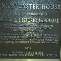 Photo prise au Union Oyster House par Gary K. le8/22/2011