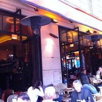 Photo taken at Café le Soufflot by William K. on 8/9/2011