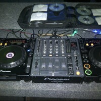 Photo taken at Airwave DJ studio by Jong.Evan.Saputera on 8/23/2012