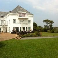 Photo taken at Jerbourg Hotel by Jan v. on 7/27/2012