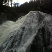 Photo taken at Vinsterfossen by Håkon R. on 6/25/2012