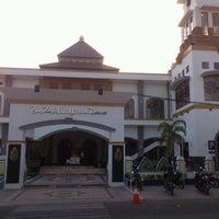 "Photo taken at Masjid ""Agung"" Baiturrahman by Lutfi N. on 8/24/2012"