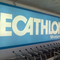 Photo taken at Decathlon by Marcello S. on 1/7/2012
