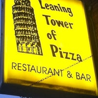 Photo taken at Leaning Tower of Pizza by Eric M. on 8/1/2011