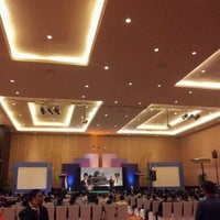 Photo taken at Bali Nusa Dua Convention Center (BNDCC) by Wahyu M. on 10/21/2011
