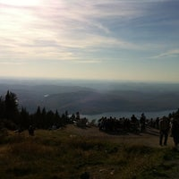 Photo taken at Sommet du Mont-Tremblant Summit by Jean-Sebastien P. on 10/8/2011