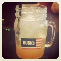 Photo taken at Huck's American Bar and Grill by Nicola C. on 7/14/2012