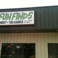 Photo taken at Fun Finds by Kim S. on 6/16/2012